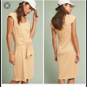 New XS Anthropologie Pure & Good Striped Dress